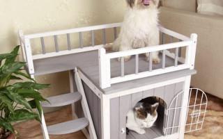 Как сделать домик для собаки? Инструкция Видео