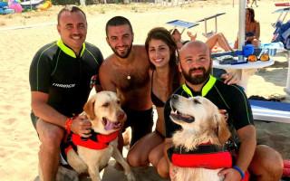 Красные жилеты: собаки в шторм спасли восьмерых итальянцев